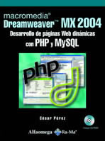 OUTLET: MACROMEDIA DREAM MX 2004 PAG PHP Y MYSQL