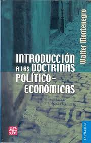 INTRODUCCION A LAS DOCTRINAS POLITICO-ECONOMICAS